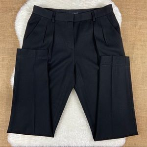 Theory wool ankle career pants size 6